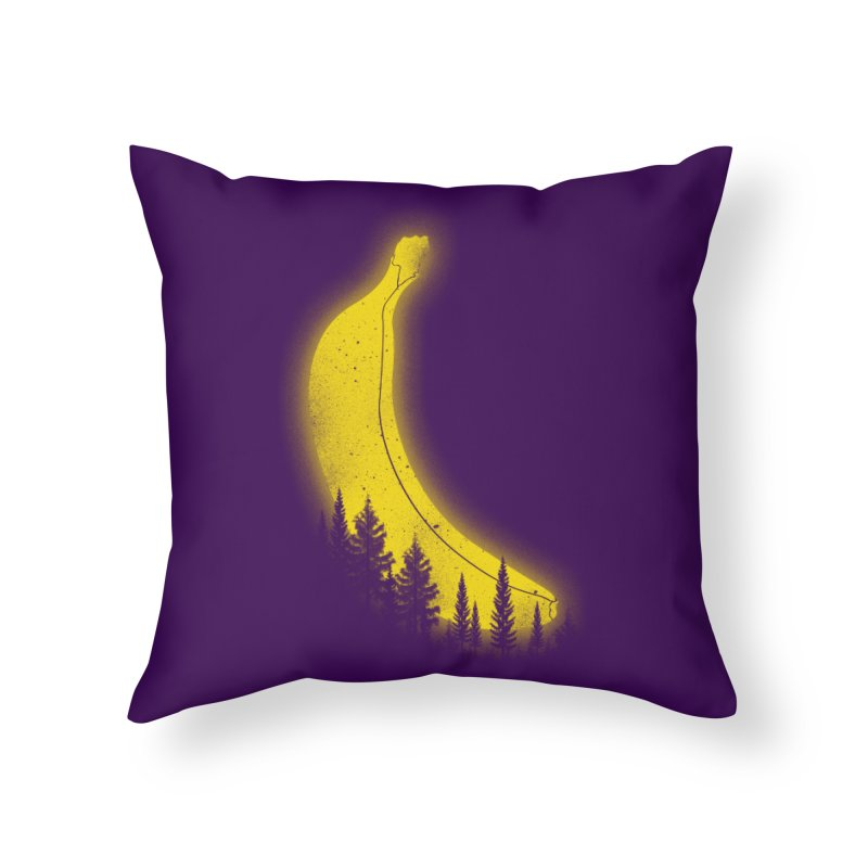 MOONana Home Throw Pillow by hd's Artist Shop