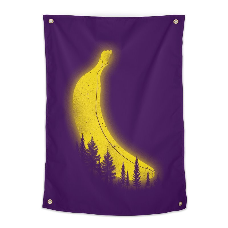 MOONana Home Tapestry by hd's Artist Shop