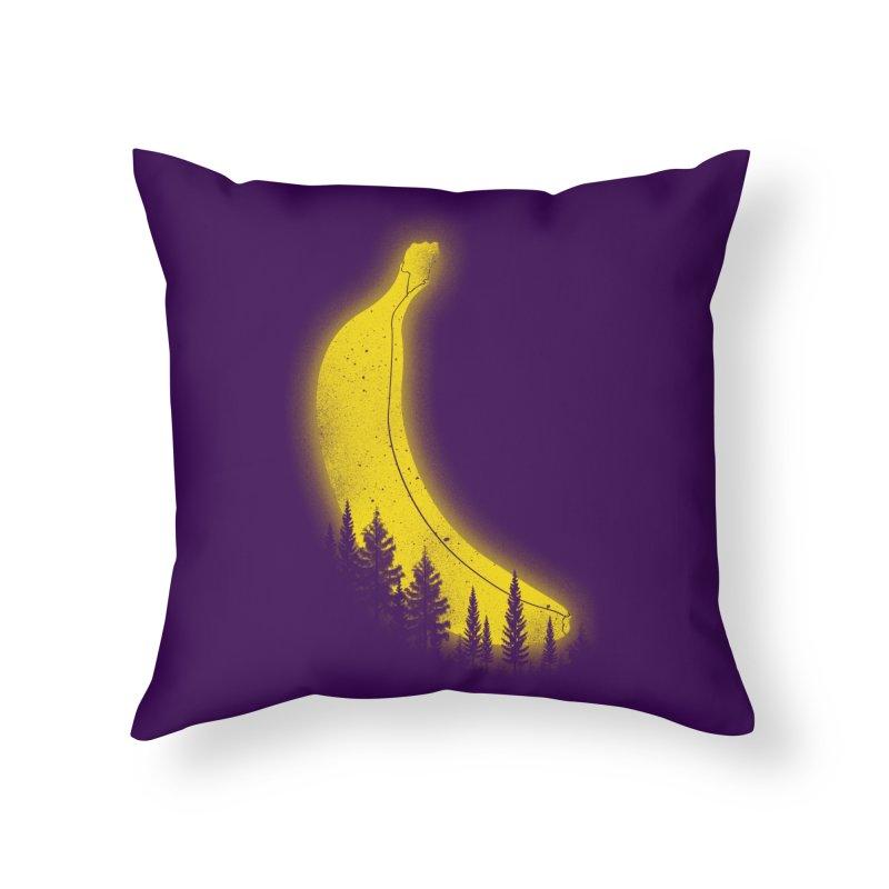 MOONana Home Throw Pillow by hd's Artist Shop