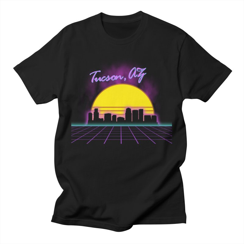 Synthwave: Tucson Men's T-Shirt by Hect Dogg Ind.'s Artist Shop