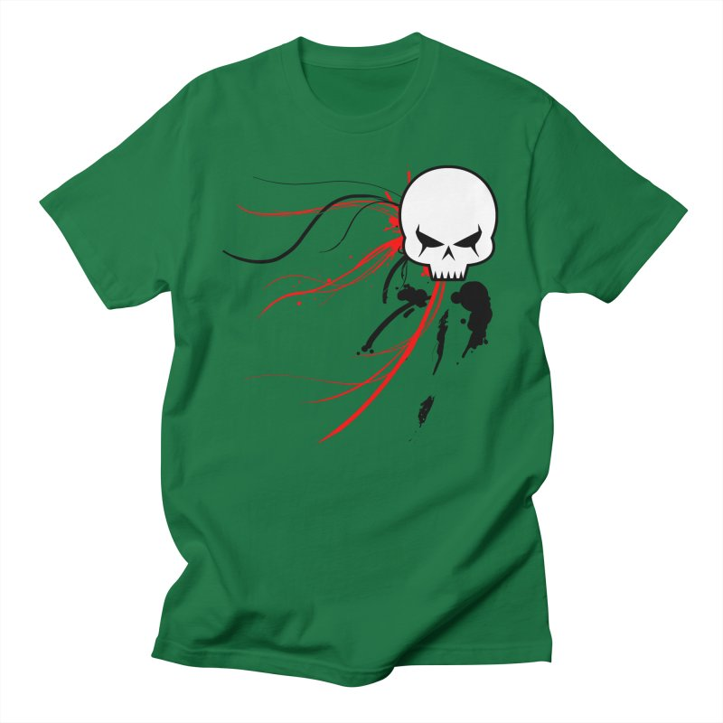 Cyber Skull Men's T-Shirt by Hect Dogg Ind.'s Artist Shop
