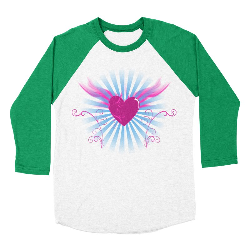 Mystical Heart Women's Baseball Triblend T-Shirt by Hect Dogg Ind.'s Artist Shop