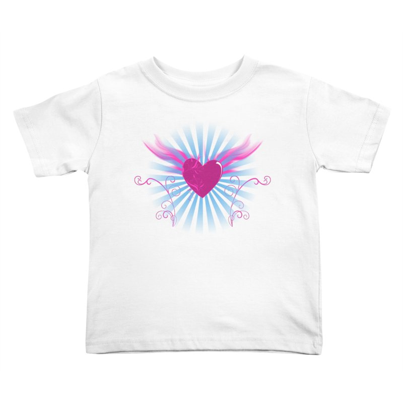Mystical Heart Kids Toddler T-Shirt by Hect Dogg Ind.'s Artist Shop