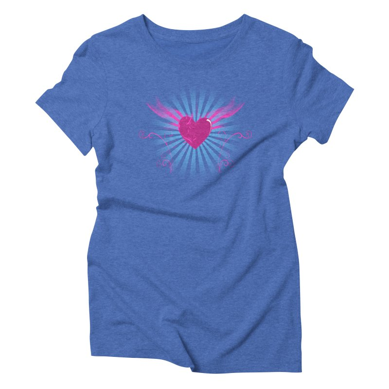 Mystical Heart Women's Triblend T-shirt by Hect Dogg Ind.'s Artist Shop