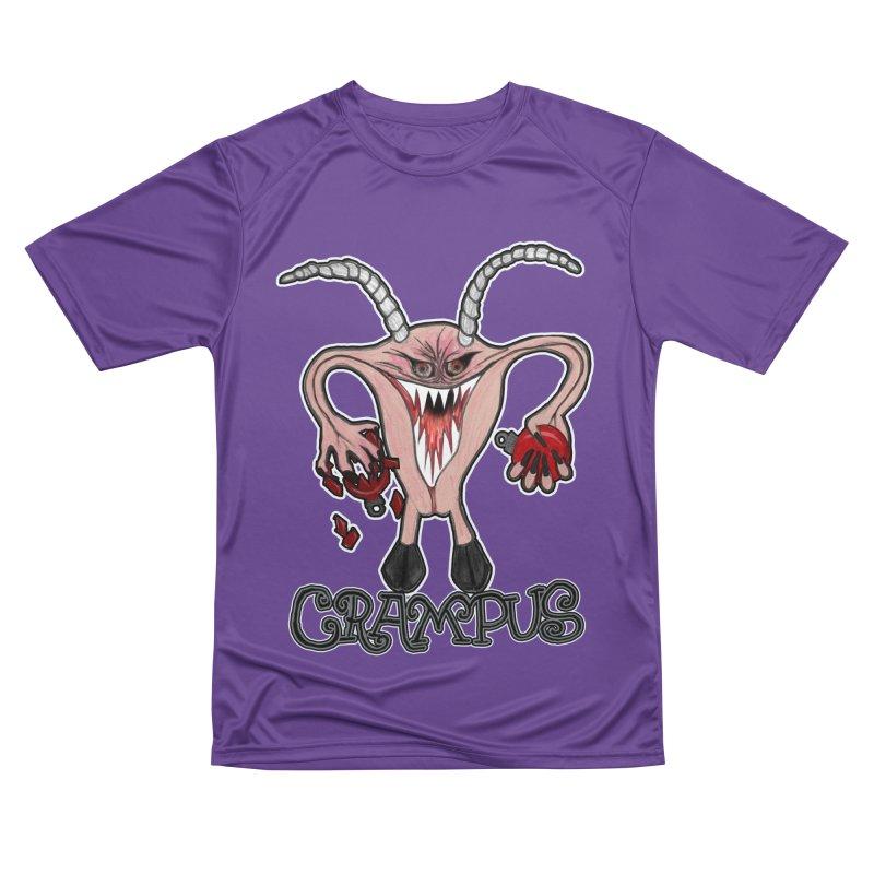 Crampus A.K.A. Krampus Men's Performance T-Shirt by heARTcart's Artist Shop