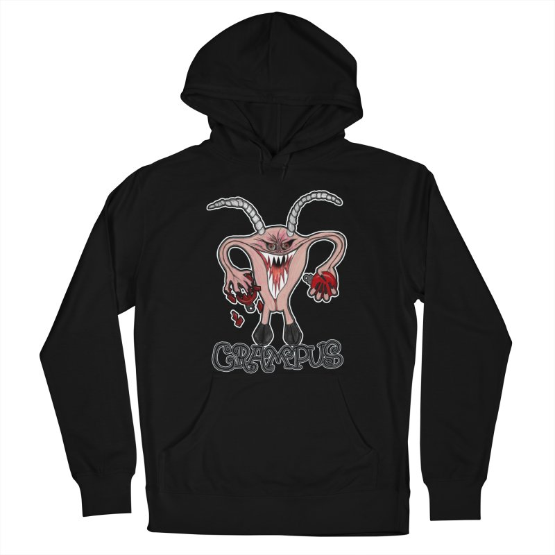 Crampus A.K.A. Krampus Men's French Terry Pullover Hoody by heARTcart's Artist Shop