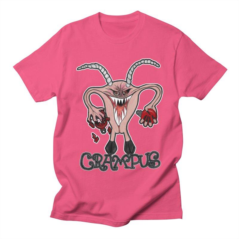Crampus A.K.A. Krampus Women's Regular Unisex T-Shirt by heARTcart's Artist Shop