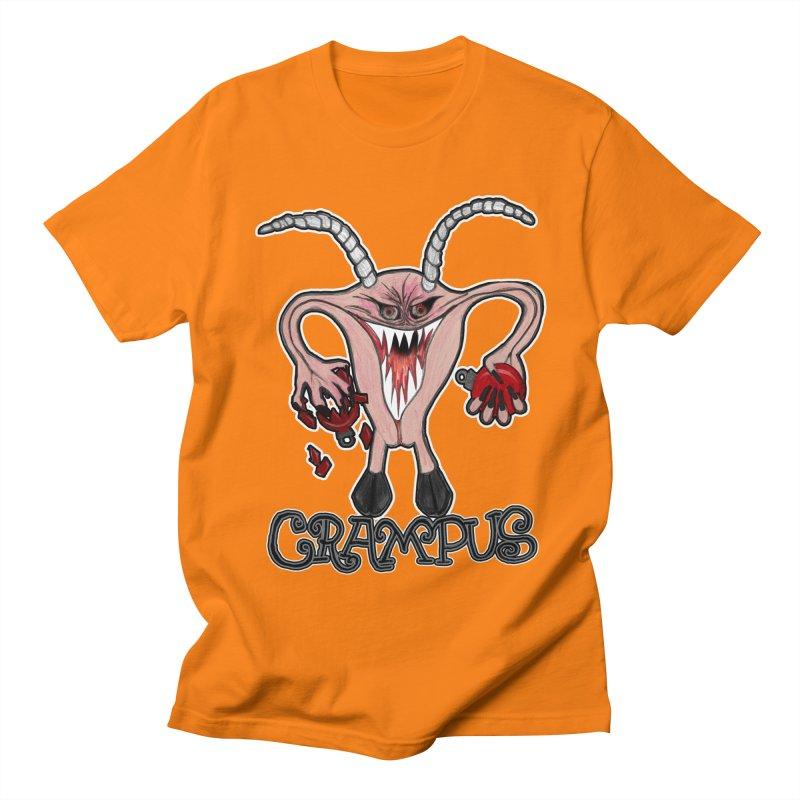Crampus A.K.A. Krampus Men's Regular T-Shirt by heARTcart's Artist Shop