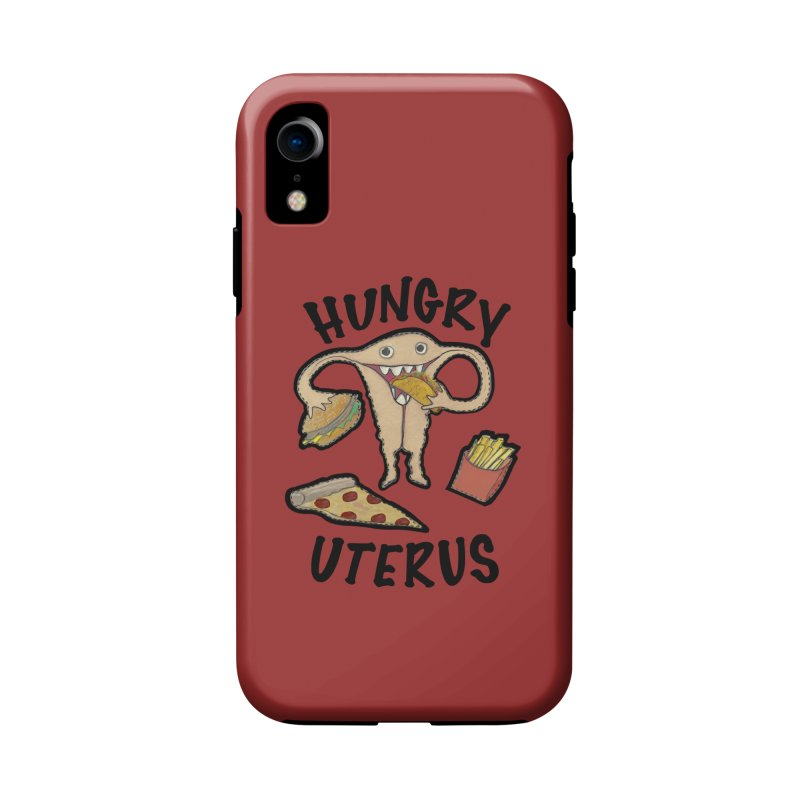 Hungry Uterus Accessories Phone Case by heARTcart's Artist Shop