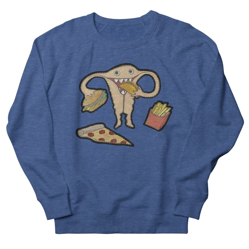 Hungry Uterus  Men's Sweatshirt by heARTcart's Artist Shop