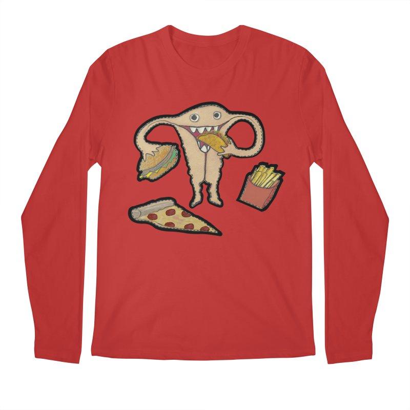 Hungry Uterus  Men's Regular Longsleeve T-Shirt by heARTcart's Artist Shop
