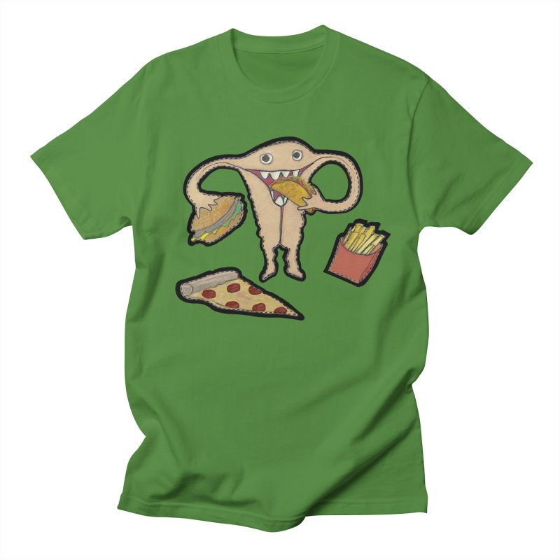 Hungry Uterus  Women's Regular Unisex T-Shirt by heARTcart's Artist Shop