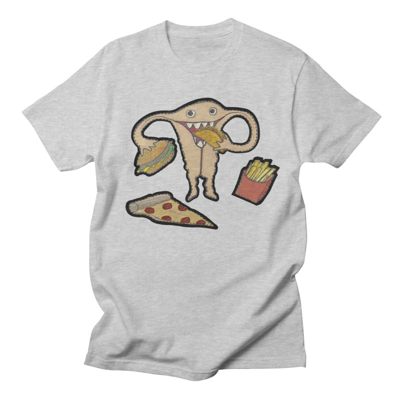 Hungry Uterus  Women's Regular Unisex T-Shirt by heARTcart's Artist Shop