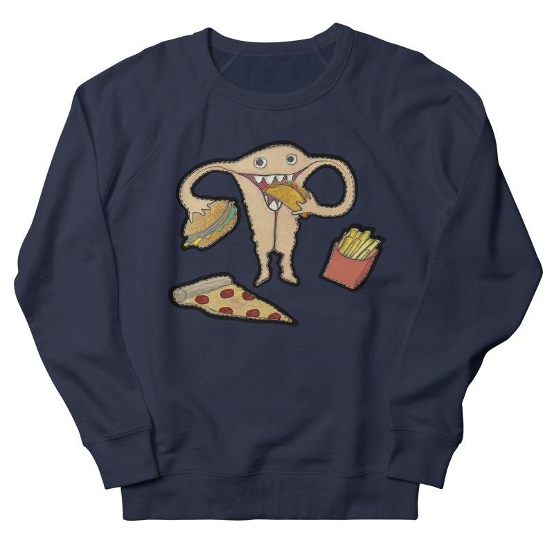 Hungry Uterus  Men's Sweatshirt by heARTcart's Artist Shop