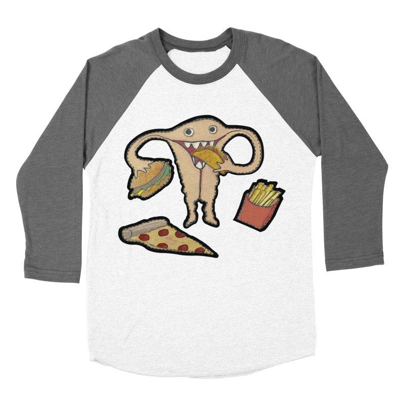 Hungry Uterus  Women's Longsleeve T-Shirt by heARTcart's Artist Shop