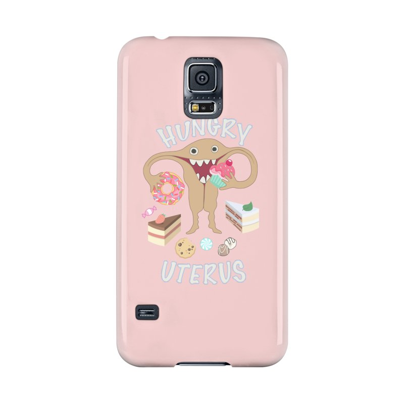 Hungry Uterus Sweet Tooth Accessories Phone Case by heARTcart's Artist Shop