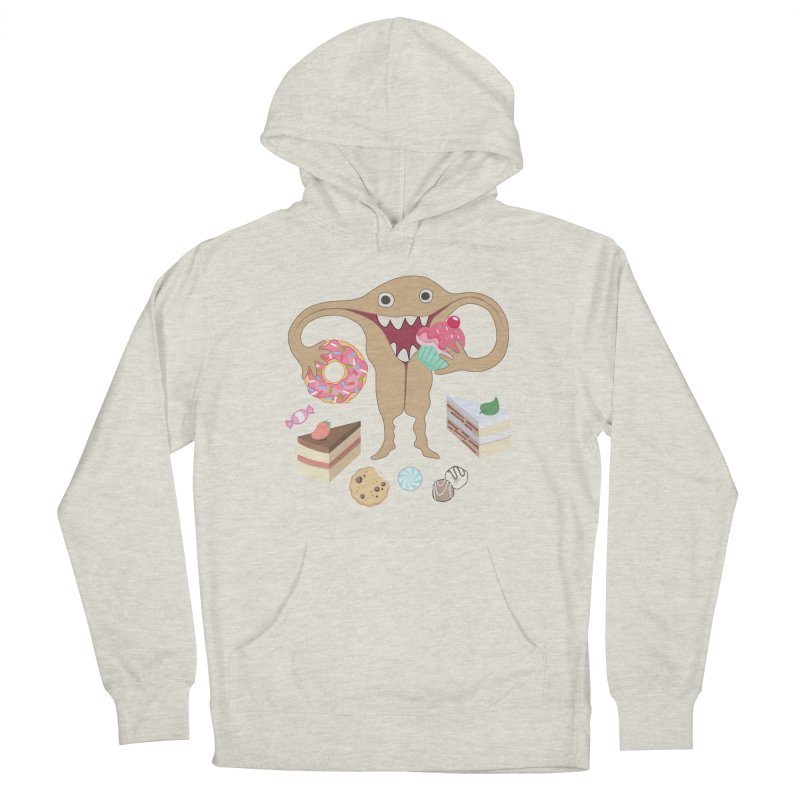 Hungry Uterus Sweet Tooth Men's Pullover Hoody by heARTcart's Artist Shop