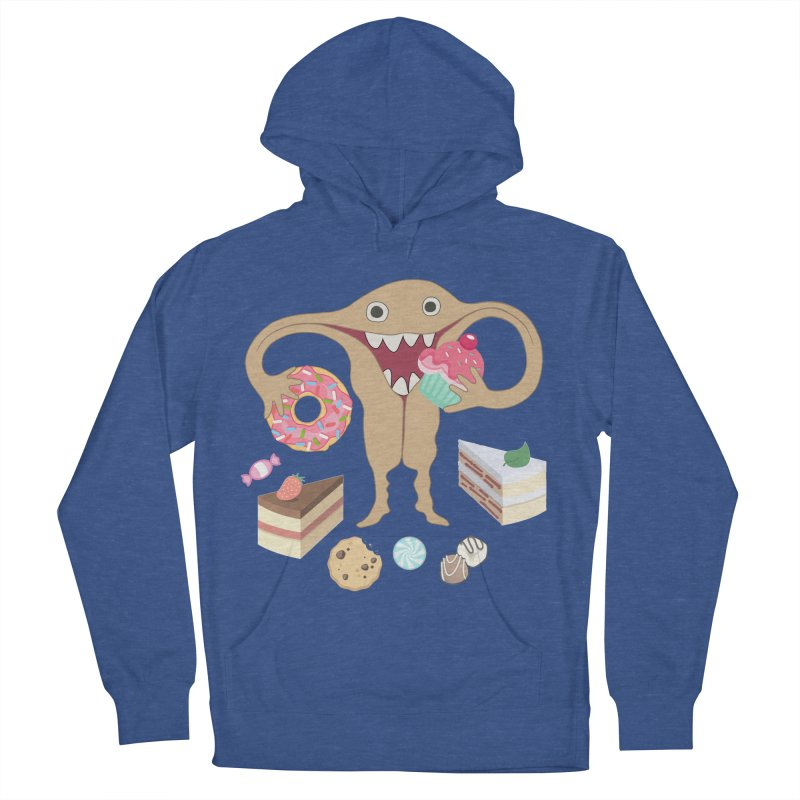 Hungry Uterus Sweet Tooth Men's French Terry Pullover Hoody by heARTcart's Artist Shop