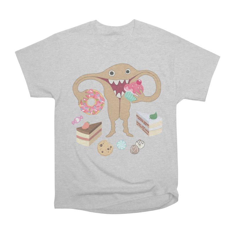 Hungry Uterus Sweet Tooth Women's Heavyweight Unisex T-Shirt by heARTcart's Artist Shop