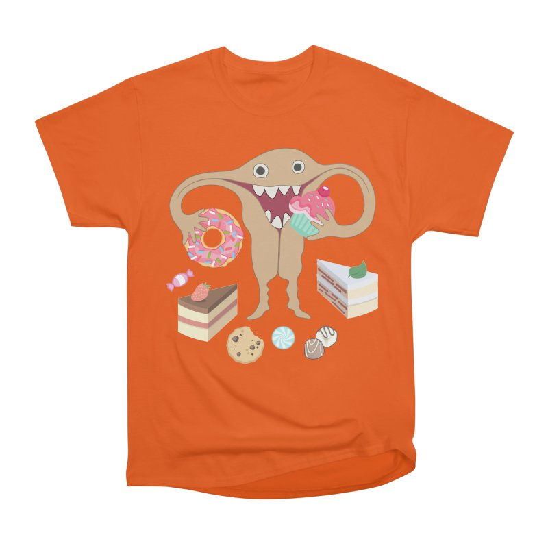 Hungry Uterus Sweet Tooth Women's T-Shirt by heARTcart's Artist Shop