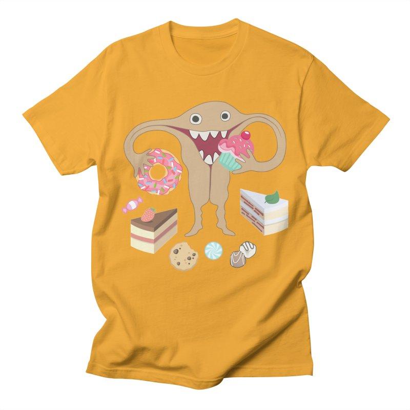 Hungry Uterus Sweet Tooth Women's Regular Unisex T-Shirt by heARTcart's Artist Shop