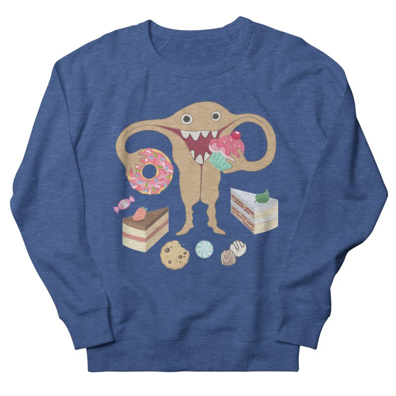 Hungry Uterus Sweet Tooth Men's Sweatshirt by heARTcart's Artist Shop