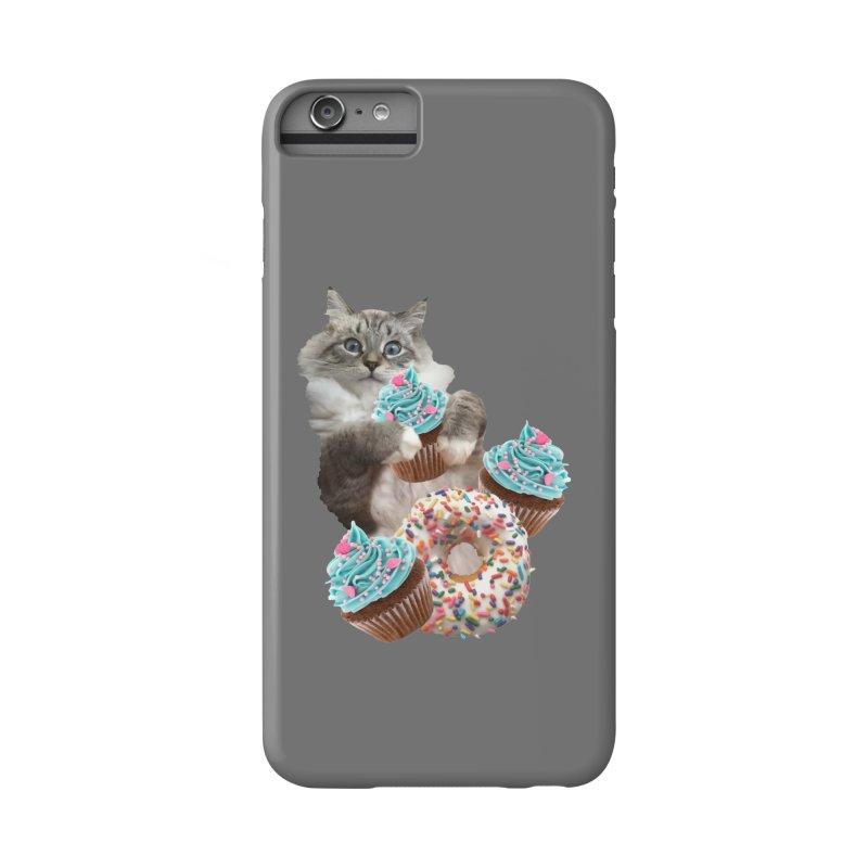 Cupcake Donut Cat  Accessories Phone Case by heARTcart's Artist Shop