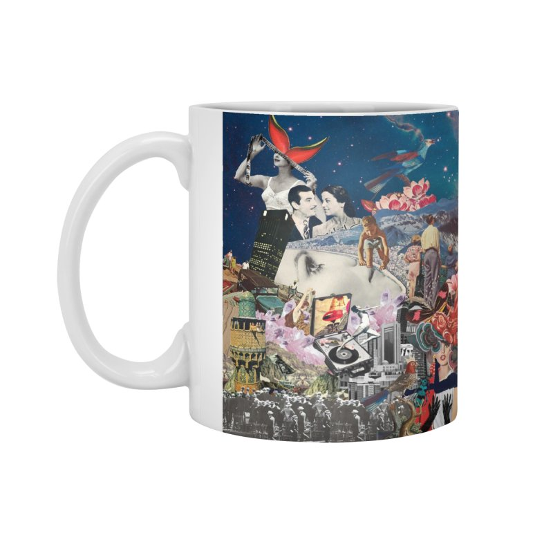Collage Inception Accessories Standard Mug by heARTcart's Artist Shop