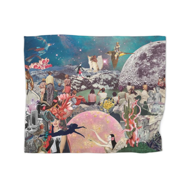 Collage Inception Home Blanket by heARTcart's Artist Shop