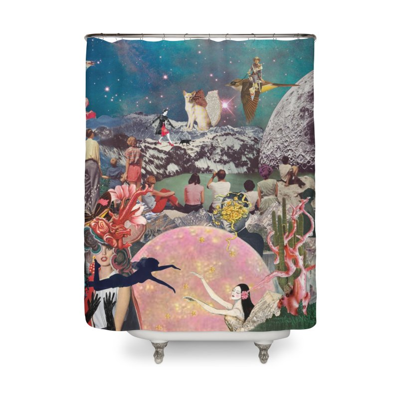 Collage Inception Home Shower Curtain by heARTcart's Artist Shop