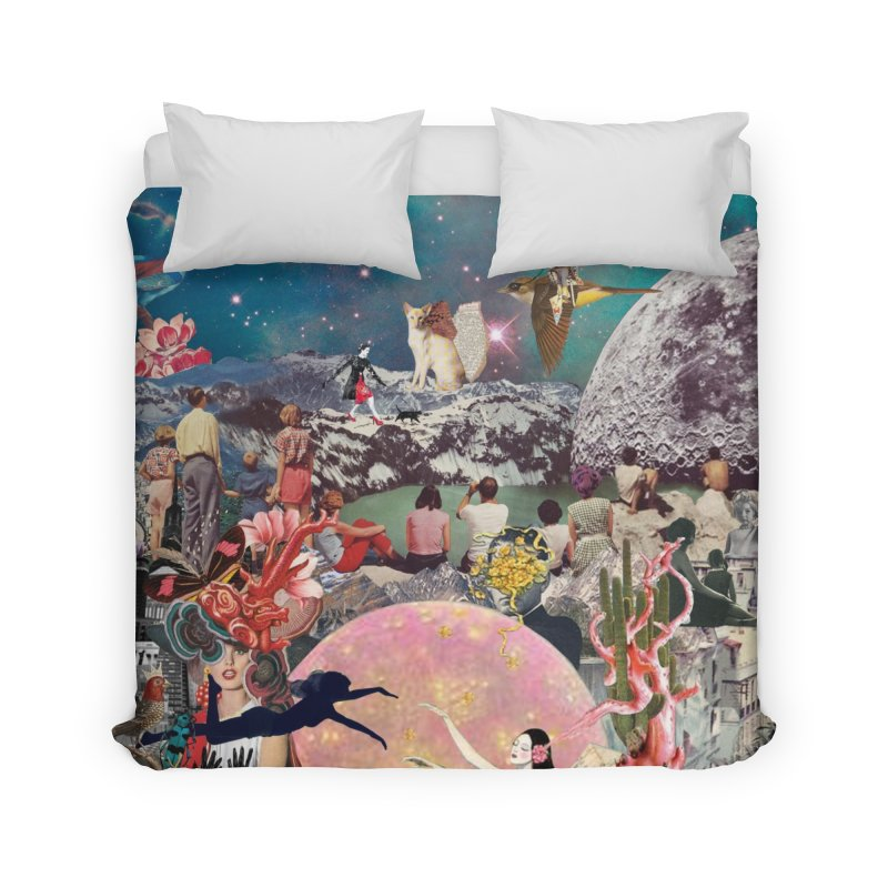 Collage Inception Home Duvet by heARTcart's Artist Shop