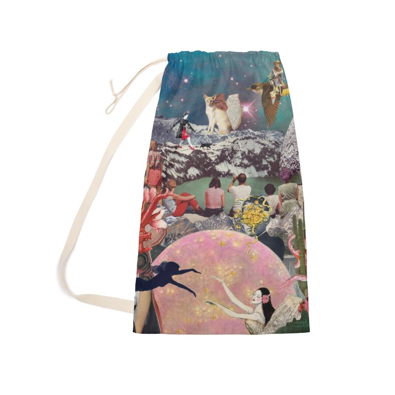 Collage Inception Accessories Laundry Bag Bag by heARTcart's Artist Shop