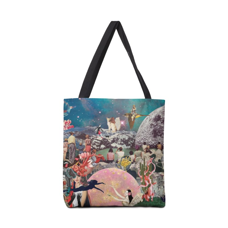 Collage Inception Accessories Bag by heARTcart's Artist Shop