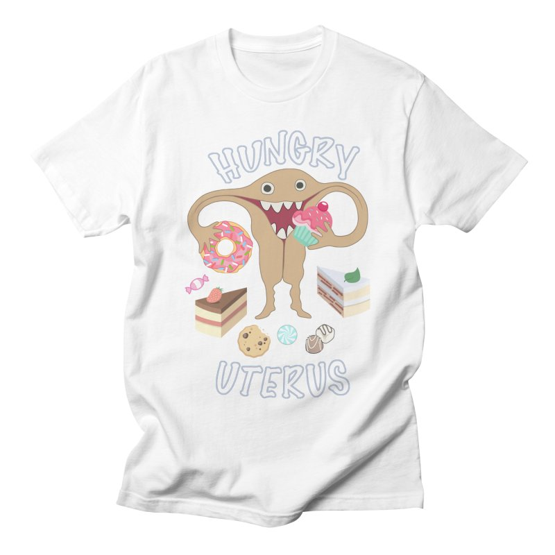Hungry Uterus Sweet Tooth Men's T-Shirt by heARTcart's Artist Shop