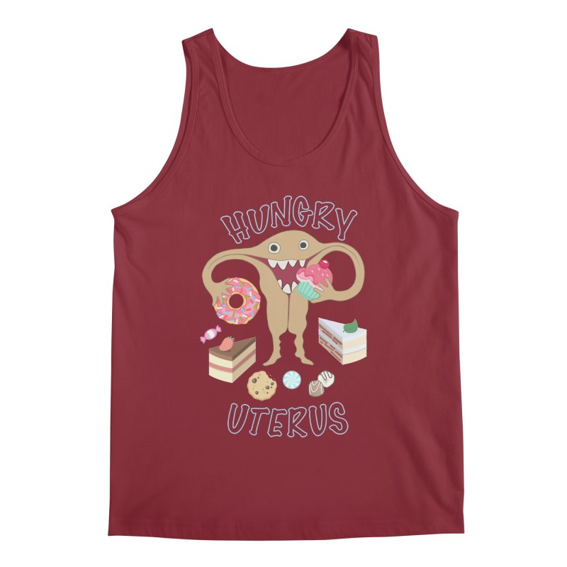 Hungry Uterus Sweet Tooth Men's Tank by heARTcart's Artist Shop