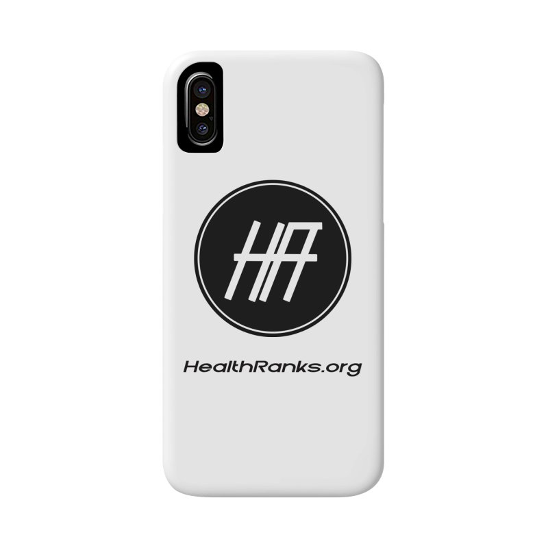 "HR ""official"" logo Accessories Phone Case by HealthRanks.org GEAR"