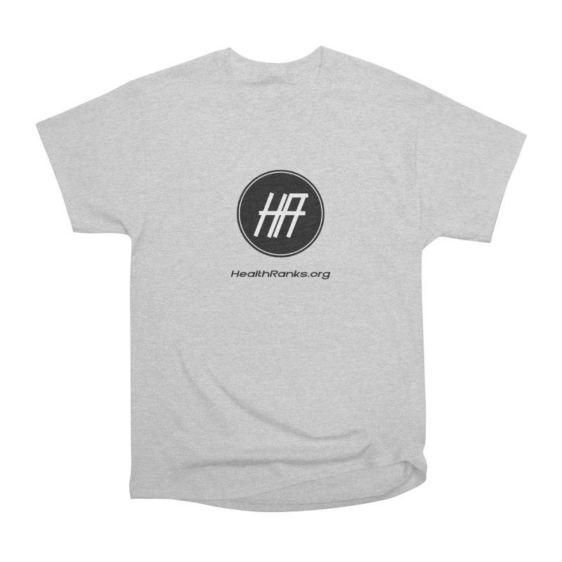 """HR """"official"""" logo Men's Heavyweight T-Shirt by HealthRanks.org GEAR"""