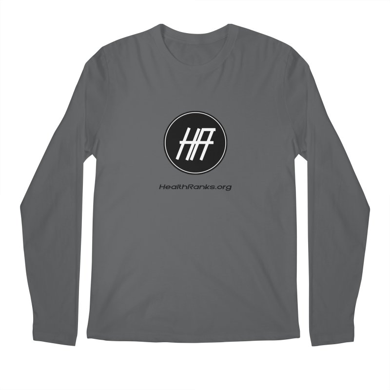 "HR ""official"" logo Men's Longsleeve T-Shirt by HealthRanks.org GEAR"