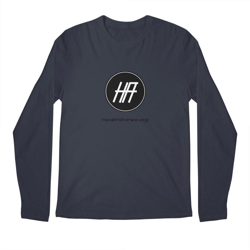 "HR ""official"" logo Men's Regular Longsleeve T-Shirt by HealthRanks.org GEAR"