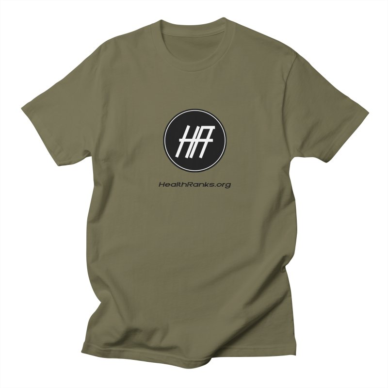 "HR ""official"" logo Women's Regular Unisex T-Shirt by HealthRanks.org GEAR"