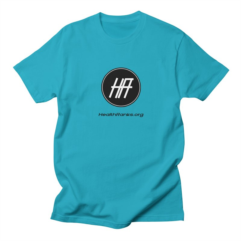 "HR ""official"" logo Men's Regular T-Shirt by HealthRanks.org GEAR"