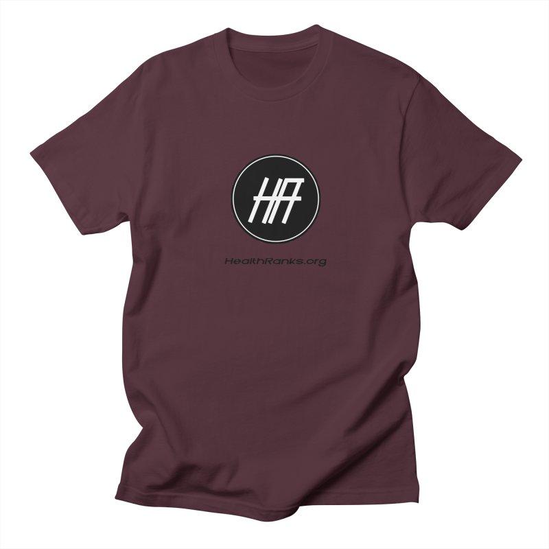 """HR """"official"""" logo Women's Regular Unisex T-Shirt by HealthRanks.org GEAR"""