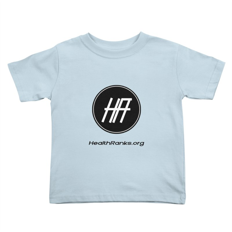 "HR ""official"" logo Kids Toddler T-Shirt by HealthRanks.org GEAR"