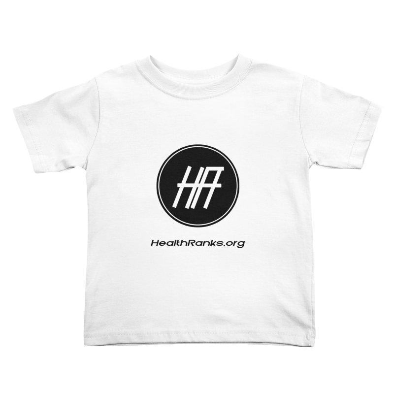 HealthRanks.org logo Kids Toddler T-Shirt by HealthRanks.org GEAR