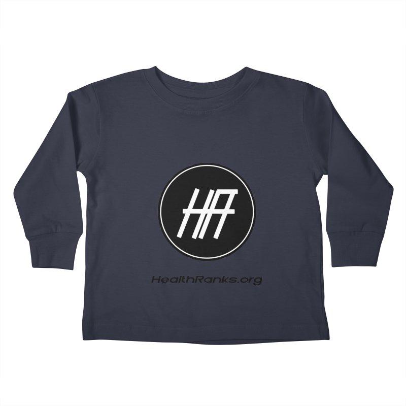 "HR ""official"" logo Kids Toddler Longsleeve T-Shirt by HealthRanks.org GEAR"