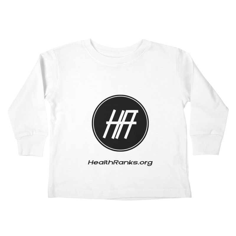 "HR ""official"" logo Kids Toddler Longsleeve T-Shirt by HealthRanks.org GEAR"