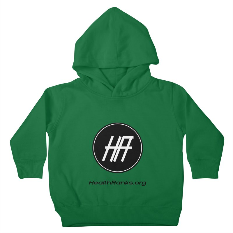 "HR ""official"" logo Kids Toddler Pullover Hoody by HealthRanks.org GEAR"