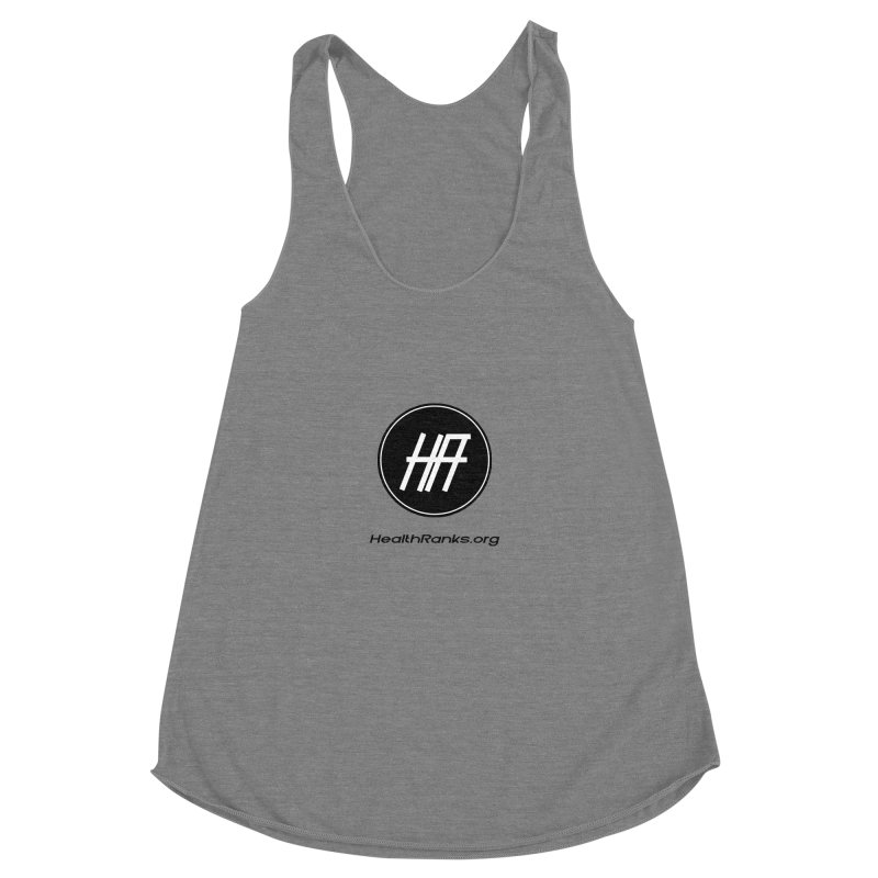 "HR ""official"" logo Women's Tank by HealthRanks.org GEAR"