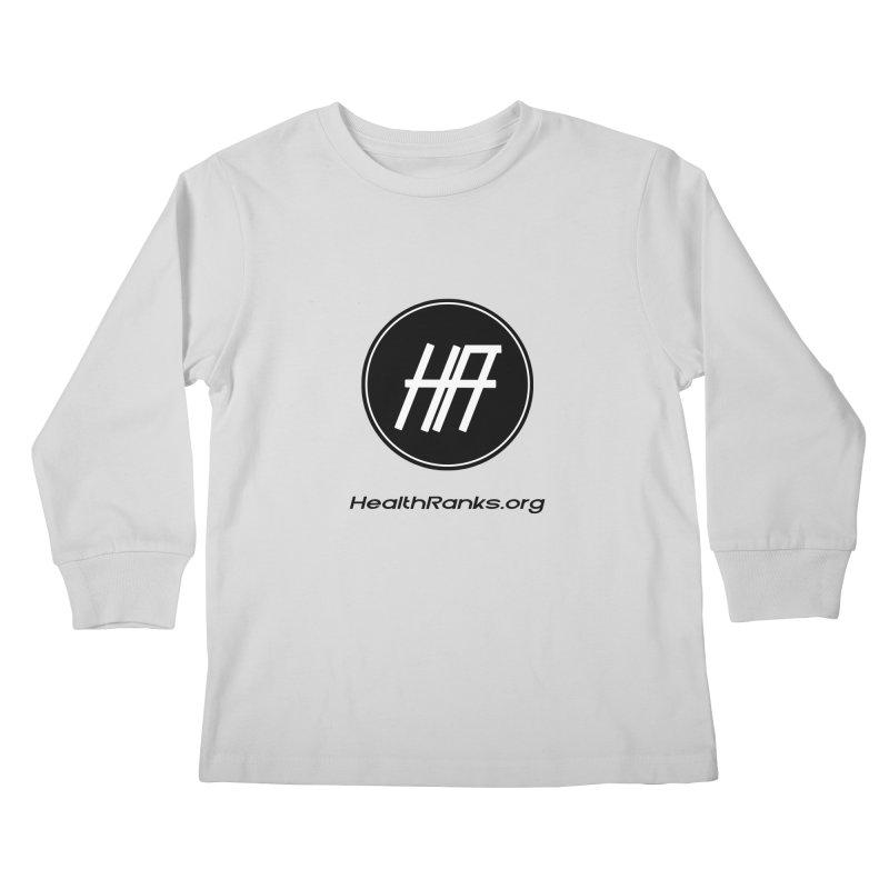 "HR ""official"" logo Kids Longsleeve T-Shirt by HealthRanks.org GEAR"