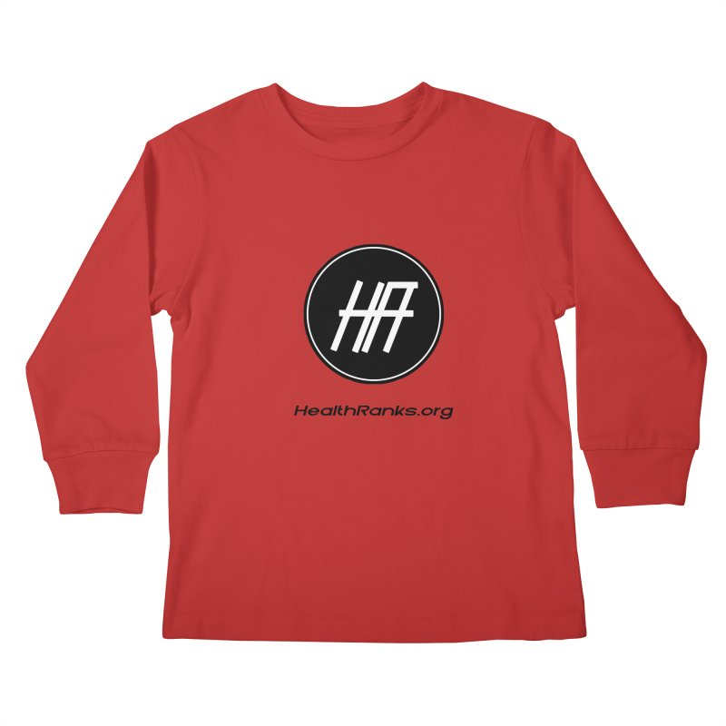 "HR ""official"" logo Kids Longsleeve T-Shirt by HealthRanks.org GEAR"